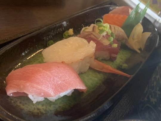 セットのお寿司