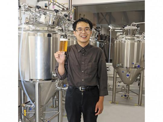 成田ファーム醸造所(ビール工房) 秀じい農場で作られた作物を活かしたオリジナルクラフトビールです。